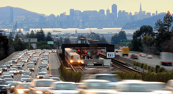 TOP TEN CONGESTION HOTSPOTS IN THE BAY AREA