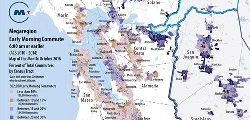 Megaregion Map