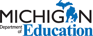 ichigan Department of Education Logo