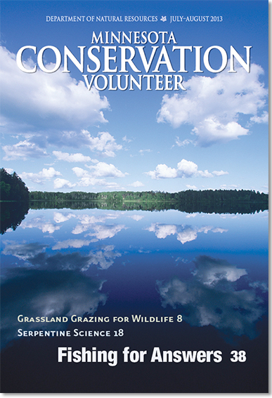 Image of July-August 2013 issue of Minnesota Conservation Volunteer magazine
