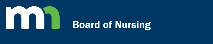 New Minnesota Board of Nursing Header