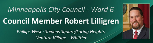 Minneapolis City Council Ward 6, Council Member Robert Lilligren