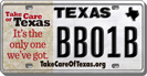 Get Your License Plate Today