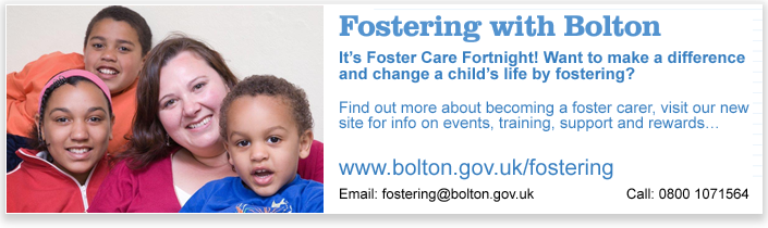 Fostering with Bolton