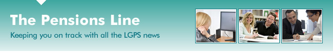 The Pensions Line - Keeping you on track with all the LGPS news