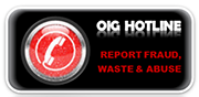 OIG Hotline - report fraud, waste & abuse