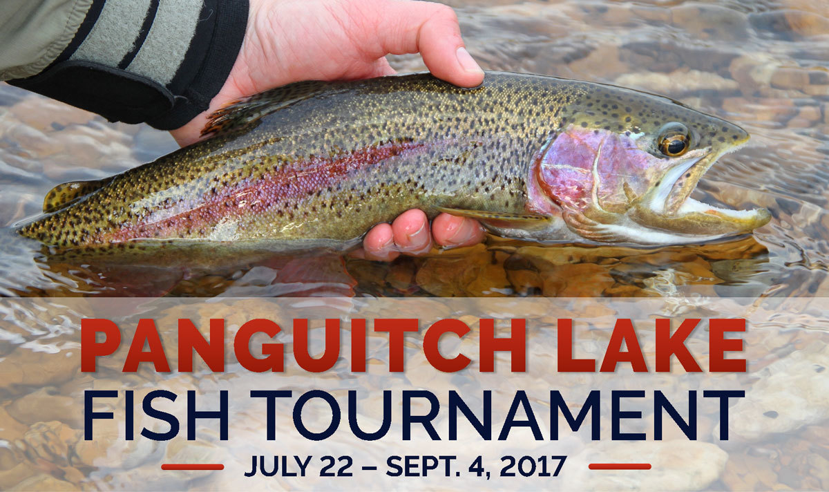The Panguitch Lake tagged-fish tournament begins July 22