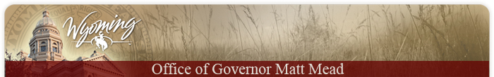Wyoming Governor banner